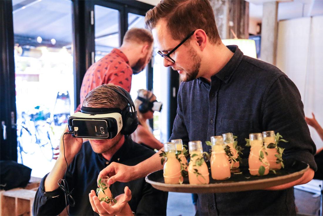 A Taste of VR | Madklubben