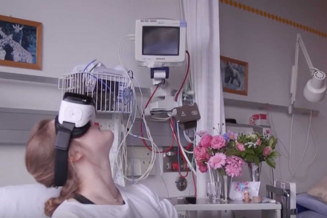 VR Tours for Long-Term Admitted Children | Rigshospitalet
