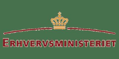 Erhvervsministeriet-logo