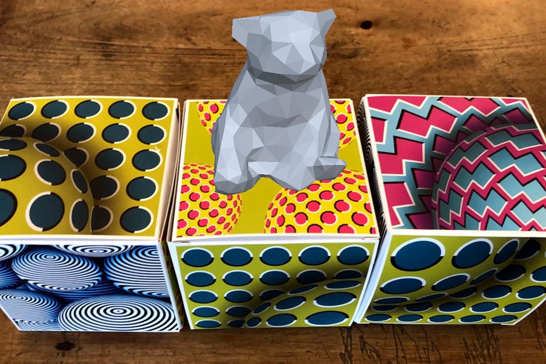 Visualisering af 3D Print i AR | Politronica