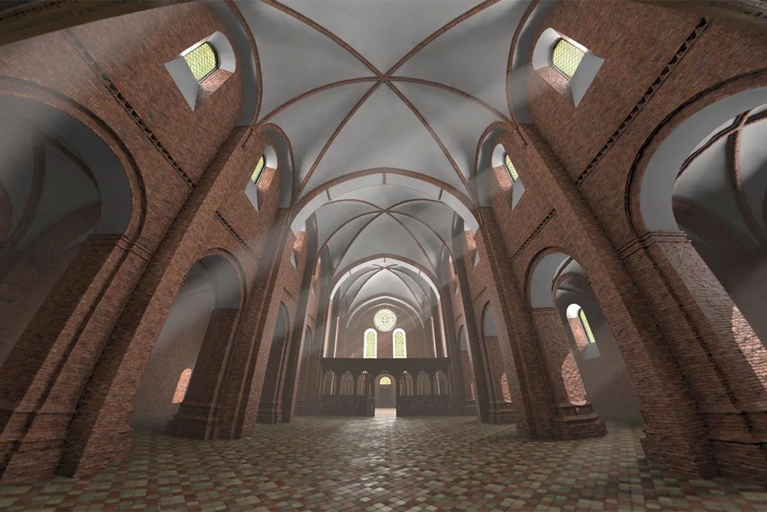 Esrum Kloster VR Reconstruction