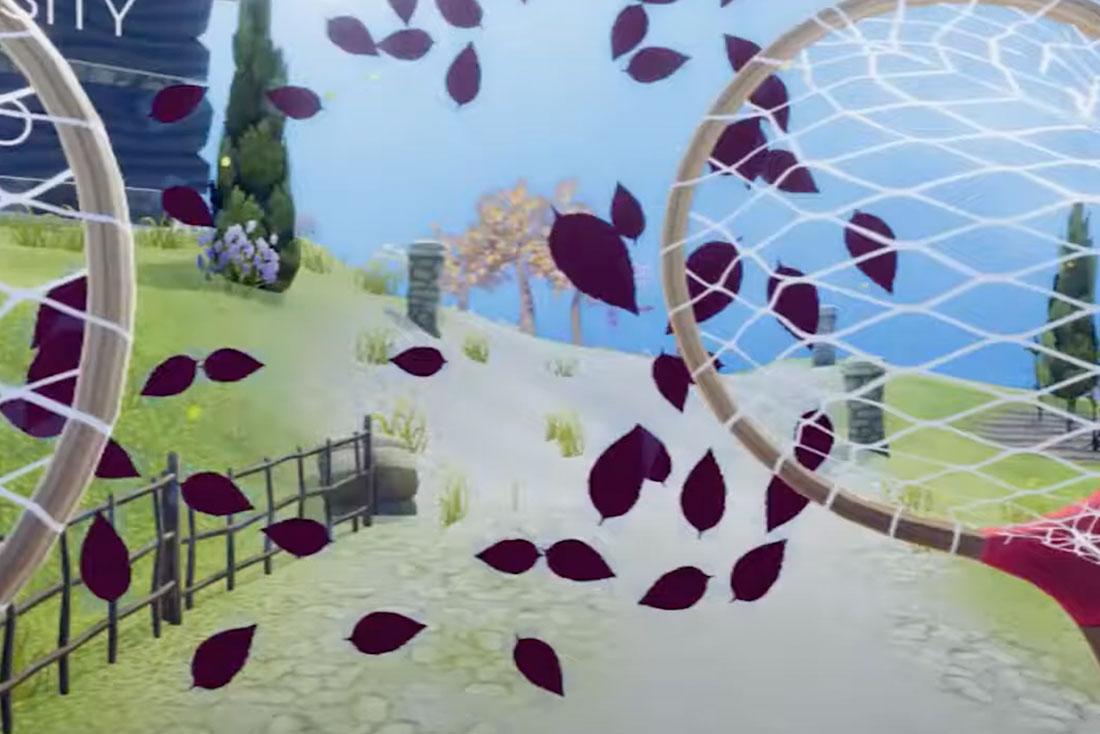 Virtual Reality Fitness Game