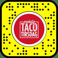 endelig-taco-tirsdag-snapcode