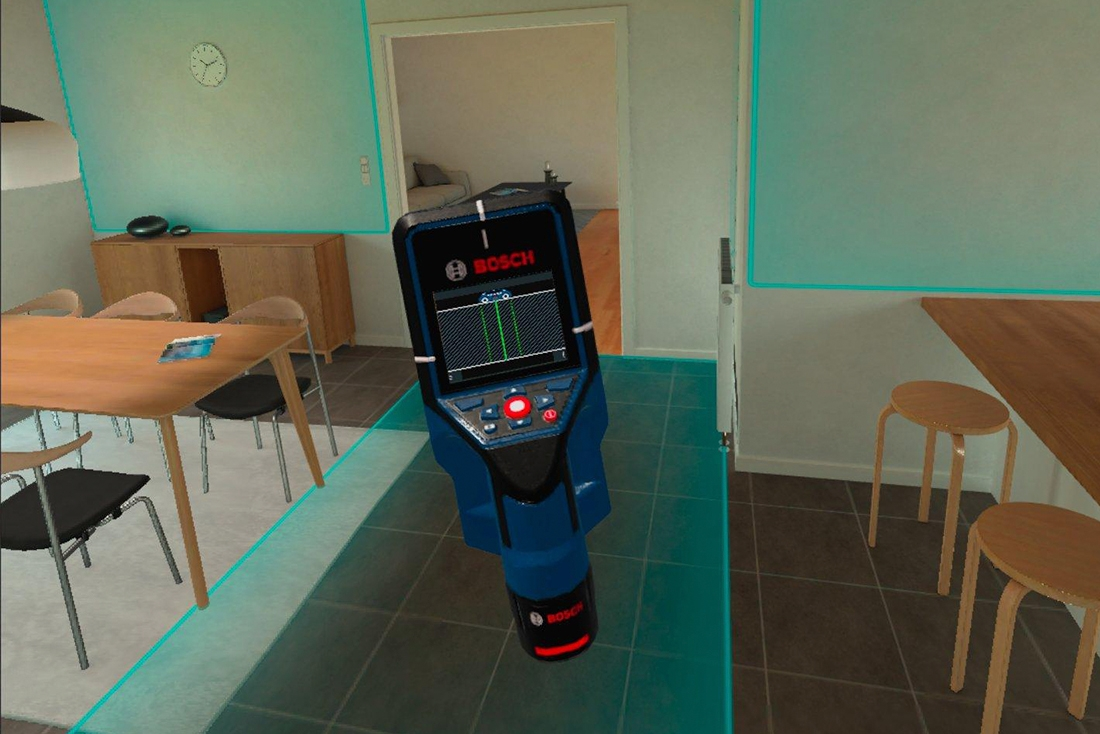 VR Simulation for thermal camera sales | Bosch