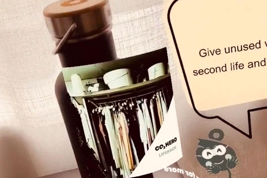 Message in a Bottle AR Instagram Filter | CO2Hero