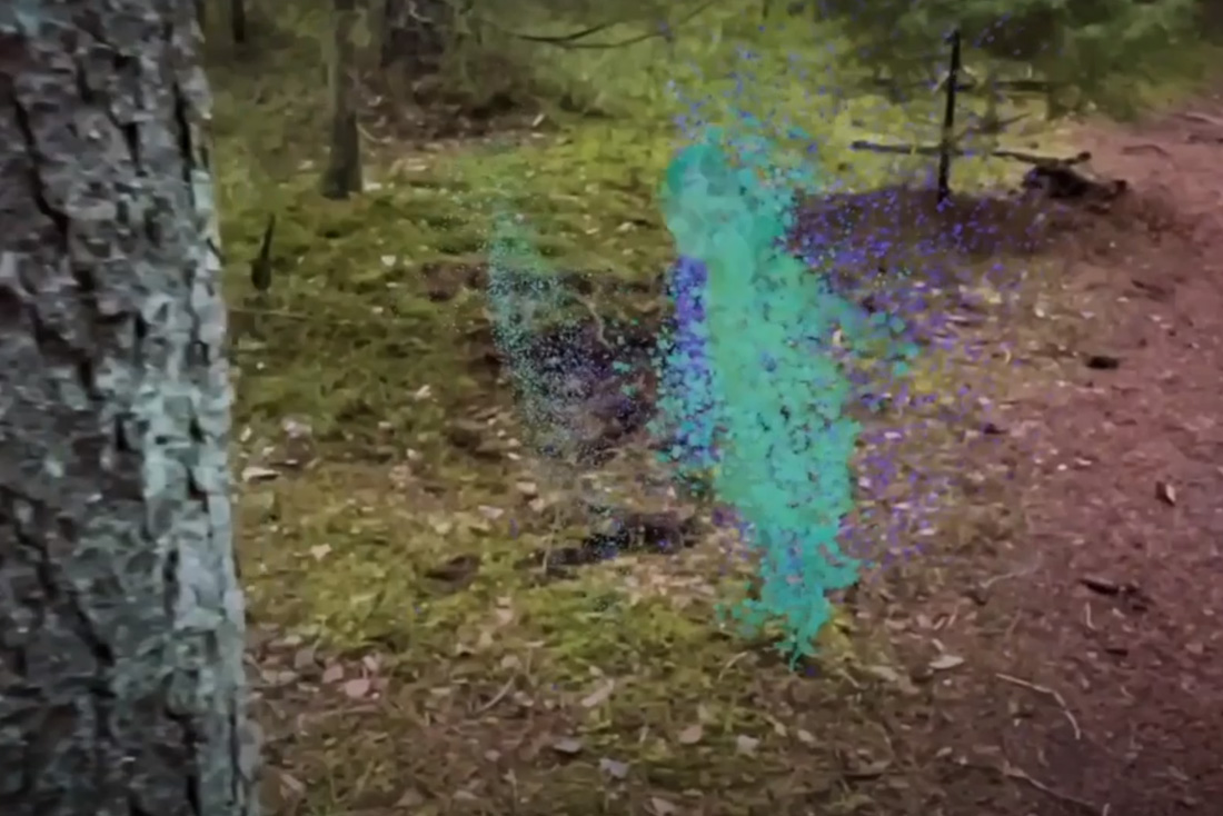 Volumetric video particle effects | Dansker Digital